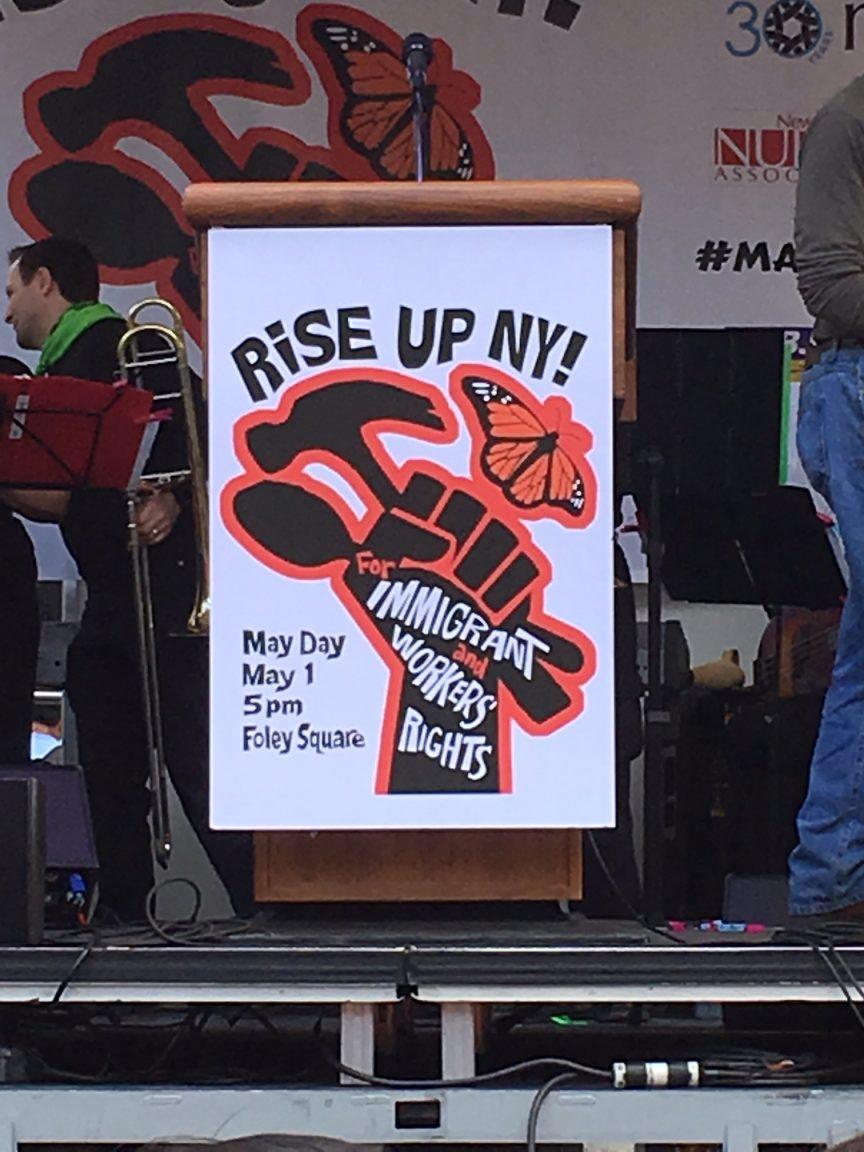 May Day Rally NYC 2017